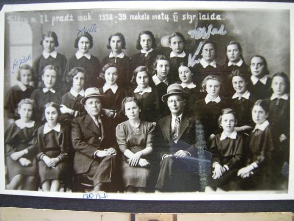 Class of Tuvie Balshem's sister, Sheyne Balshem
