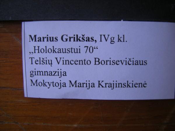 Cartel Marius Griksas