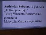 Cartel Andriejus Sobutas