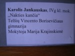 Cartel Karolis Jankauskas