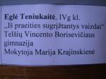 Cartel Eglé Teniukaité