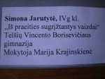 Cartel Simona Jarutyté