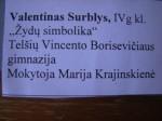 Cartel Valentinas Surblys