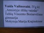 Cartel Vaida Vaisnoraité