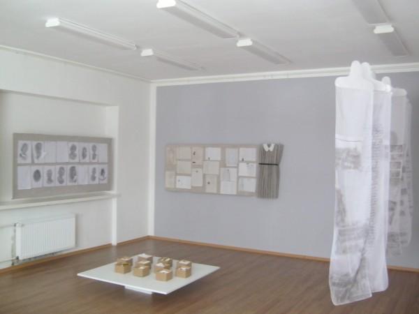 Works from oung artists Simona Remeikaitė, Kristina Balsytė and Rytė Krakauskaitė
