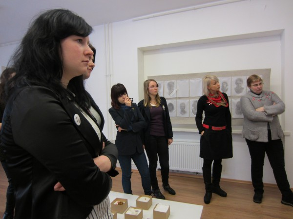 Students of V. Borisevicius with teachers Lina and Janina